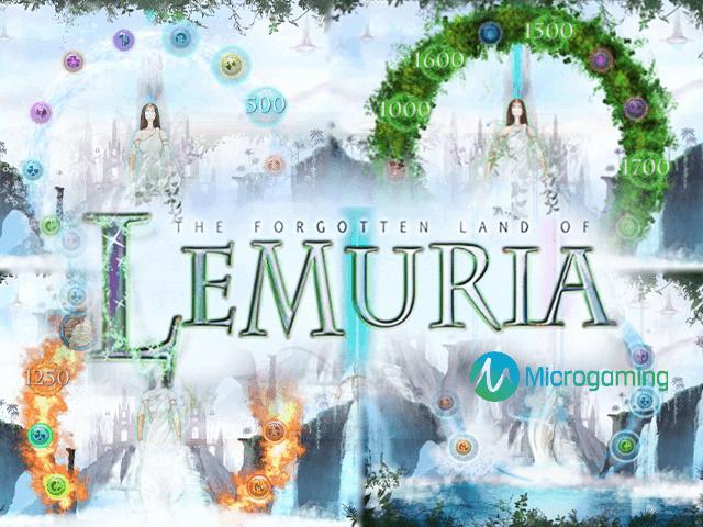 The Forgotten Land Of Lemuria – игровой автомат от Микрогейминг